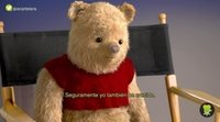 'Christopher Robin': Entrevista a Winnie the Pooh, Tigger, Igor y Piglet