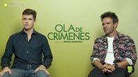 """Raúl Peña y Miguel Bernardeau ('Ola de crímenes'): """"No es tan fácil hablar de lo bueno y lo malo"""""""