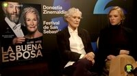 Glenn Close ('La buena esposa'):
