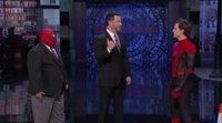 Tom Holland aparece en 'Jimmy Kimmel Live!' con el traje de Spider-Man