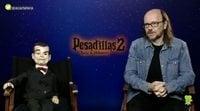 Entrevistamos a Santiago Segura y Slappy, 'Pesadillas 2: Noche de Halloween'