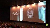 Minuto de silencio por Alan Rickman en el Harry Potter Film Fest