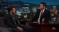 Sebastian Stan says he won't be Captain America in 'Jimmy Kimmel Live!'