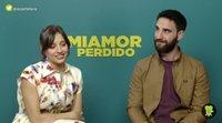 """Dani Rovira y Michelle Jenner: """"'Miamor perdido' tiene un humor muy peculiar"""""""