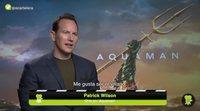 Patrick Wilson explica cómo se ruedan las escenas más difíciles de 'Aquaman'