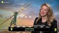 Amber Heard ('Aquaman') reclama más presencia femenina tras las cámaras