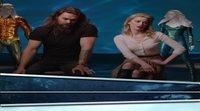 'Aquaman': Jason Momoa y Amber Heard juegan a adivinar los sonidos de los 7 mares
