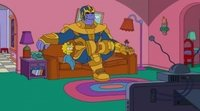 'Los Simpson' Thanos
