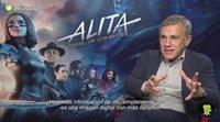 """Christoph Waltz ('Alita: Ángel de combate'): """"Me gustaría descubrir más de 'Alita'"""""""