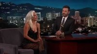 Lady Gaga at 'Jimmy Kimmel' talking about the 2019 Oscars and Bradley Cooper