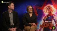 Los directores de 'Capitana Marvel' nos hablan de los homenajes noventeros