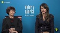 """Julieta Serrano y Penélope Cruz: """"Somos muy felices cuando Almodóvar nos llama para actuar"""""""