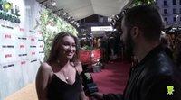 Carlota Boza reconoce que los actores de 'LQSA' tienen una porra sobre el estreno de la undécima temporada