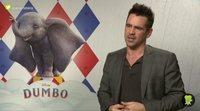 "Colin Farrell: ""'Dumbo' es un 35% remake, un 65% historia nueva"""