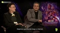 Anthony y Joe Russo ('Vengadores: Endgame'):