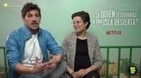 """Jota Linares: """"El público de '¿A quién te llevarías a una isla desierta?' ya está en Netflix"""""""