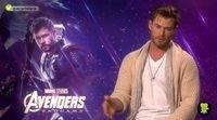 Chris Hemsworth y cómo Robert Downey Jr. hizo que se sintieran como una familia en 'Vengadores: Endgame'