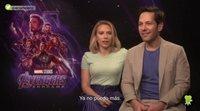 """Scarlett Johansson ('Vengadores: Endgame'): """"Estoy lista para que esto acabe"""""""