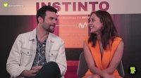 """Silvia Alonso y Jon Arias ('Instinto'): """"Cuando tienes escenas eróticas hay que quitar hierro y reírnos"""""""