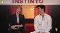 Ingrid García Jonsson y Óscar Casas ('Instinto'):