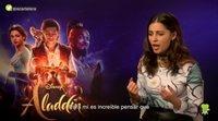 """Naomi Scott ('Aladdin'): """"Quiero mostrar una mujer que quiere ser líder y dirigir su propia historia"""""""