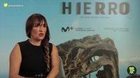 """Candela Peña ('Hierro'): """"Mi personaje no necesita de ningún hombre para sostener su trama"""""""