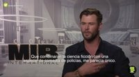 "Chris Hemsworth: ""'Men In Black: International' no es un intento de hacer un remake"""