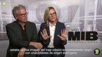 """Los productores de 'Men in Black: International': """"Hay que aprovechar cualquier buen personaje femenino"""""""