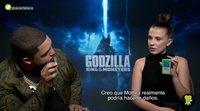 'Godzilla: Rey de los monstruos': Millie Bobby Brown y O'Shea Jackson Jr juegan a nuestra batalla de monstruos