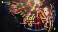 "Tom Hanks ('Toy Story 4'): ""El cambio no es una tragedia, es algo normal de la vida"""