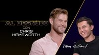Entrevista doble Tom Holland (Spider-Man) y Chris Hemsworth (Thor)