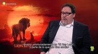 """Jon Favreau ('El Rey León'): """"Preocuparse de cómo va a ser algo antes de verlo es desperdiciar energía"""""""