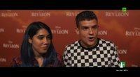 Reacciones a 'El Rey León' en la premiere de España