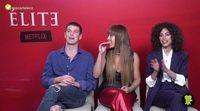 Entrevista a Miguel Bernadeau, Danna Paola y Mina El Hammani ('Élite')