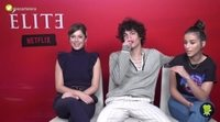 Entrevista a Georgina Amorós, Jorge López y Claudia Salas ('Élite')