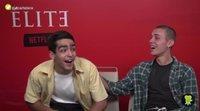 Omar Ayuso y Arón Piper ('Élite'): Omander, el sexo y su encuentro más loco con un fan
