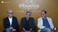 Entrevista a Carlos Iglesias, Roberto Álvarez y Ramón Barea, protagonistas de 'Abuelos'