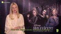 """Elle Fanning: """"Las tres protagonistas de 'Maléfica: Maestra del mal' utilizan su poder de manera diferente"""""""