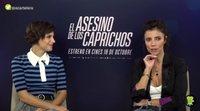 Aura Garrido y Maribel Verdú sobre la inversión de roles en 'El asesino de los caprichos'