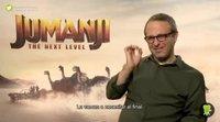 """Jake Kasdan: """"'Jumanji: Siguiente nivel' es mi película de videojuegos"""""""