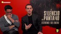 """Pedro Alonso ('El Silencio del Pantano'): """"Berlín me hizo pasar mucho vértigo, hice cosas muy arriesgadas"""""""