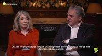 'Downton Abbey': Entrevista con Jim Carter y Phyllis Logan