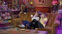 Jennifer Aniston sorprende a sus fans en el Central Perk para el programa 'The Ellen Show'