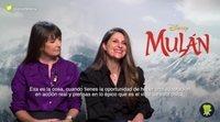 """Niki Caro ('Mulan'): """"El momento musical es el más importante de la película"""""""