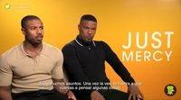 """Michael B. Jordan y Jamie Foxx ('Cuestión de justicia'): """"Tienes que tener fe en que las cosas pueden mejorar"""""""