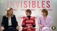 """Nathalie Poza: """"'Invisibles' toca lugares de nosotras que tampoco siempre nos gustan"""""""