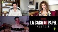 Jaime Lorente y Esther Acebo hablan de 'La Casa de Papel' Parte 4, de machismo y de VOX