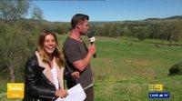 Chris Hemsworth se cuela en el pronóstico meteorológico de un programa australiano