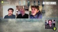 Entrevista a Álex García, Roberto Álamo y Patrick Criado por 'Antidisturbios'