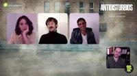 Entrevista a Vicky Luengo, Raúl Arévalo y Raúl Prieto por 'Antidisturbios'